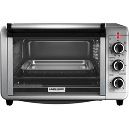 Black & Decker BD Toaster Oven SS Silver