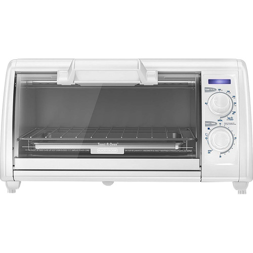 Black & Decker BD 4 Slice Toaster Oven Wht