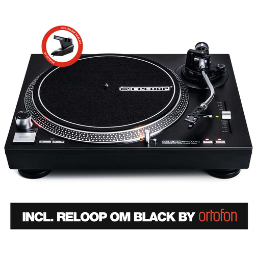 Reloop Quartz-Driven DJ Turntable with High-Torque Direct Drive AMS-RP-4000-MK2