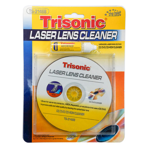 Laser Lens Cleaner for DVD/CD Players - TS-3146B