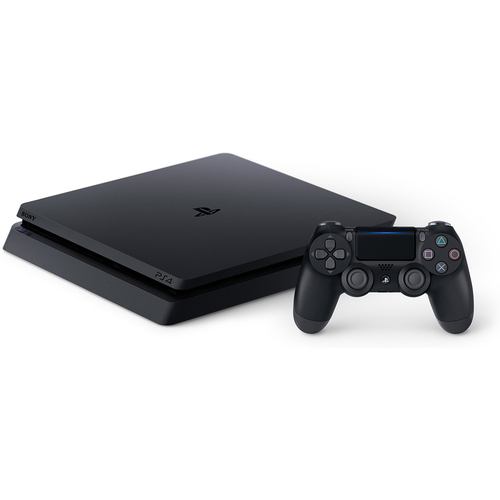 Sony Playstation 4 Slim Gaming Console 1 TB Core-Jet Black (CUH-2215B)