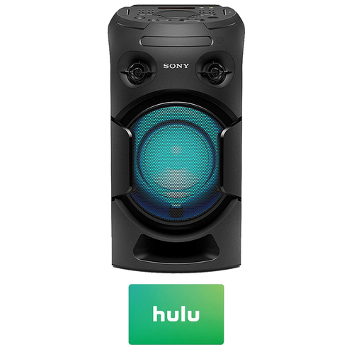 Sony MHC-V21 High Power Audio Bluetooth Speaker with $25 Hulu PLUS Gift Card
