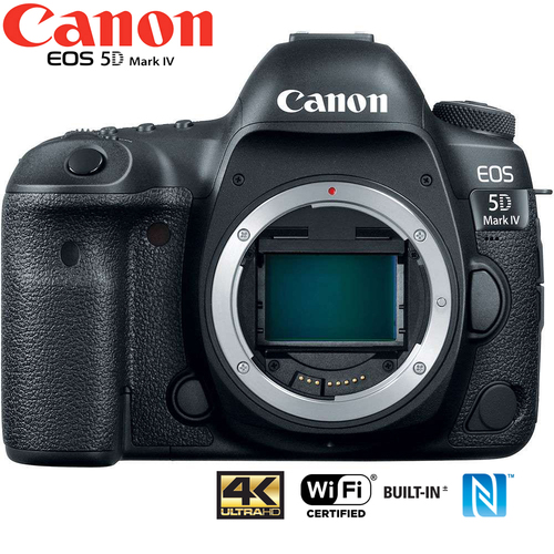 Canon EOS 5D Mark IV 30.4MP Full Frame CMOS DSLR Camera Body (Certified Refurbished)