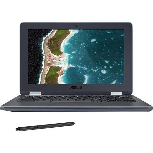 ASUS 11.6` 4G 32BG Chrome 2-in-1 Laptop - 90NX01C1-M00400