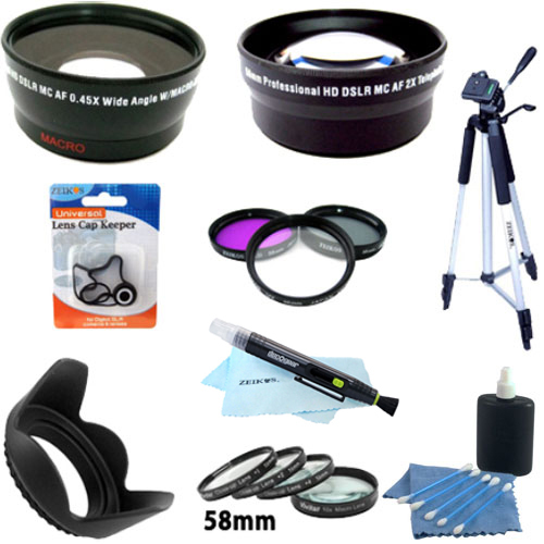 Special Pro Kit for CANON REBEL (T4i T3i T3 T2i T2 T1i), CANON EOS (7D 60D)