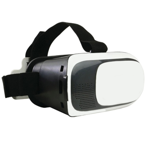 Deco Essentials VR Viewer for 3.5` - 6` Android & iPhones with audio ports (DGVR100BK)