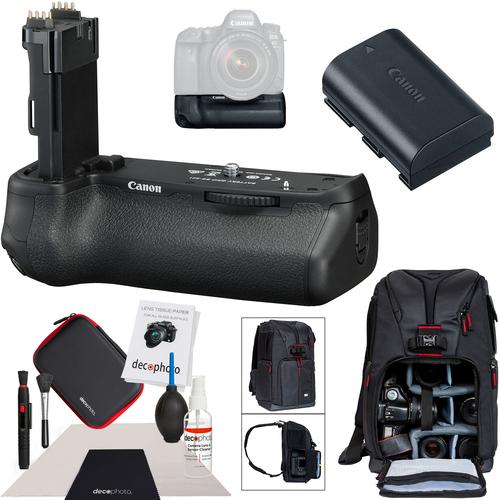Canon BG-E21 Battery Grip for EOS 6D Mark II + LP-E6 Battery