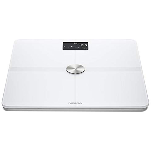 Withings Inc Smart Body Composition Wi-Fi Digital Scale in White - WBS05BdyPlusWht