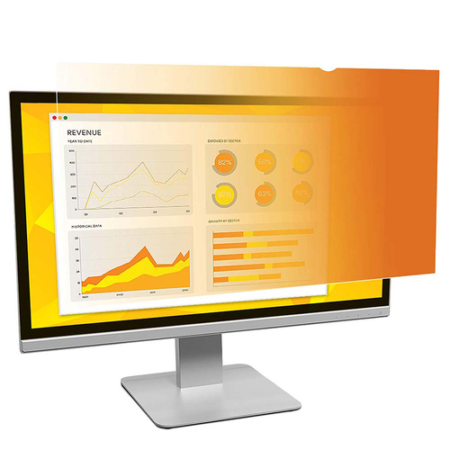 3M Gold Privacy Filter for 21.5` Widescreen Monitor - GF215W9B