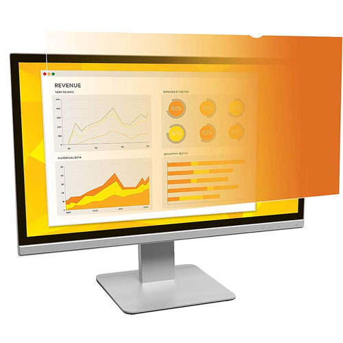 3M Gold Privacy Filter for 22` Widescreen Monitor - GF220W1B