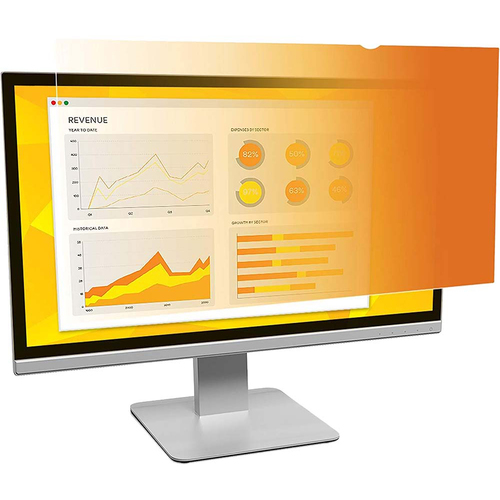 3M Gold Privacy Filter for 24` Widescreen Monitor - GF240W1B