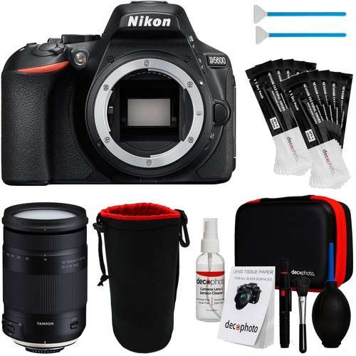 Nikon D5600 24.2MP DSLR Camera Body + 18-400mm Lens + Accessories
