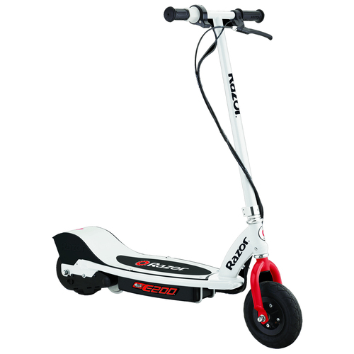 E200 Electric Scooter White / Red