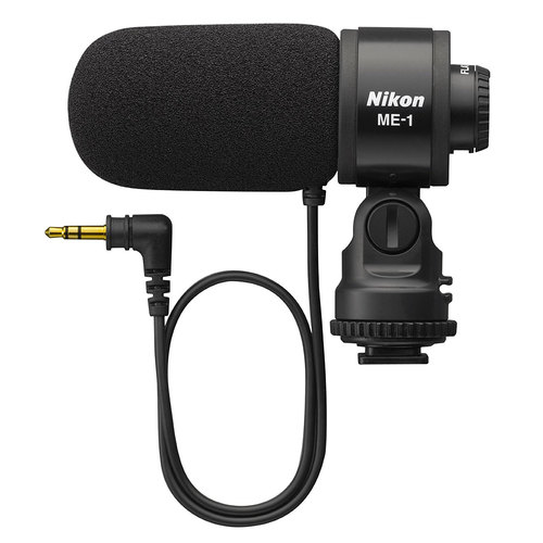 Nikon ME-1 Stereo Shotgun Microphone for Digital SLR Cameras