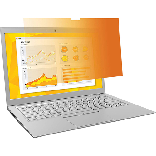 3M Gold Privacy Filter for 13.3` Widescreen Laptop - GF133W9B