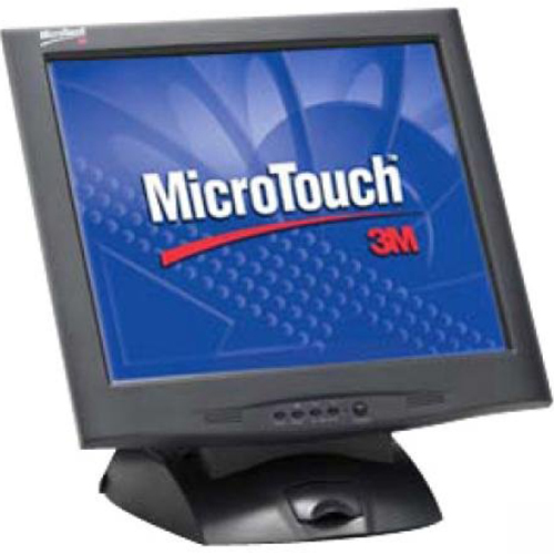 3M TOUCH SCREEN 17` MicroTouch Display M1700SS Capacitive in Black - M1700SS-SERIAL