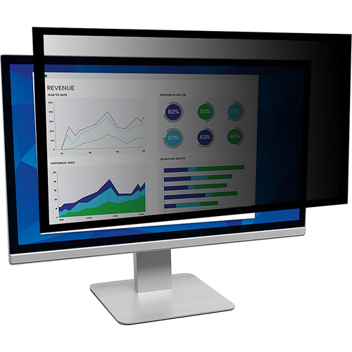 3M Framed Privacy Filter for 20` Widescreen Monitor - PF200W1F