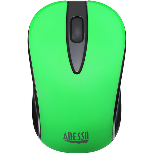 Adesso Wireless Optical Neon Mouse Neon Green - iMouse S70G