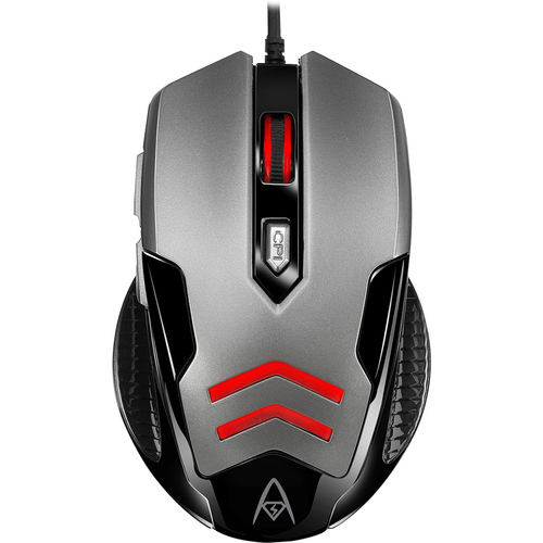 Multi-Color 6-Button Gaming Mouse - iMouse X1