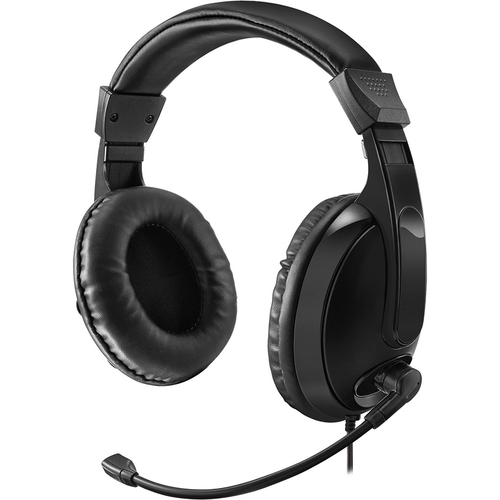 Adesso Xtream H5 Multimedia Headphone/Headset with Microphone