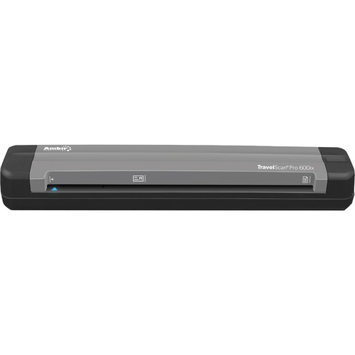 AMBIR TravelScan Pro PS600ix Simplex Document and Card Scanner - PS600IX-AS