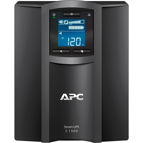 APC Smart UPS with SmartConnect Remote Monitoring Pure Sine Wave Backup -SMC1500C