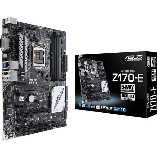 ASUS - MOTHERBOARDS Motherboard - Z170-E