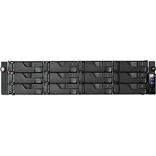 ASUSTOR Intel Core i3 Dual Core 3.5 GHz 4GB DDR3 4GbE 12 Bay NAS Server - AS7012RD