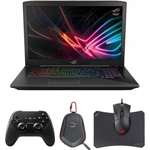 ASUS - NOTEBOOKS i7 7700HQ 16GB RAM 256GB SATA SSD and 1TB HDD NVIDIA GTX 1050 4GB - GL703VD-DB74