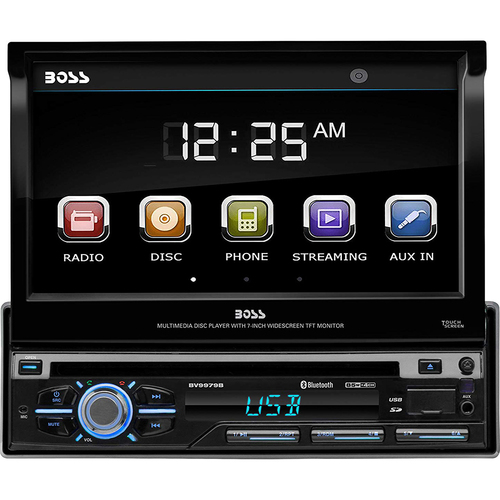 BOSS AUDIO-CAR AUDIO/VIDEO Single Din Touchscreen Bluetooth Car Stereo - BV9979B