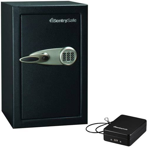 Large Executive Home & Office Security Safe + Portable Security Safe