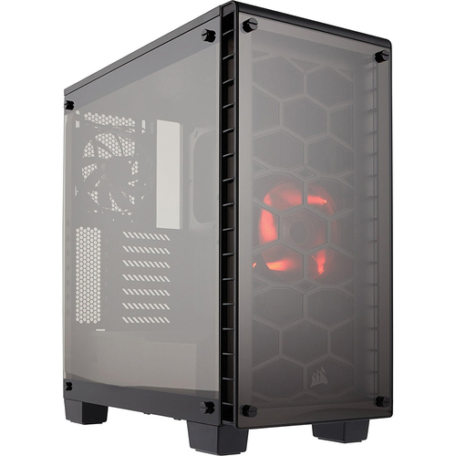 Corsair Crystal Series 460X Compact ATX Mid-Tower Case - CC-9011099-WW