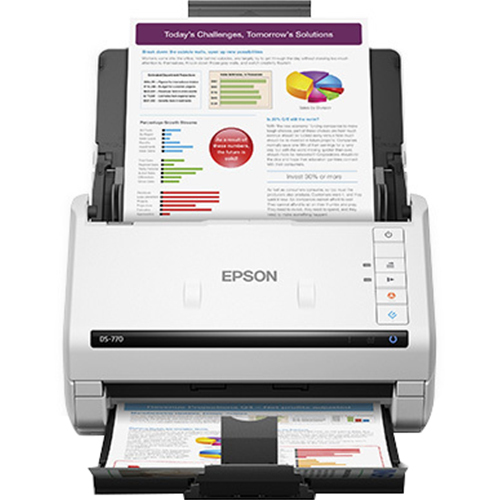 Epson WorkForce DS 770 Color Document Scanner - B11B248301