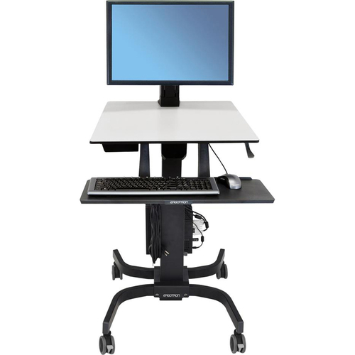 Ergotron WorkFit C Single HD Sit Stand Workstation - 24-216-085