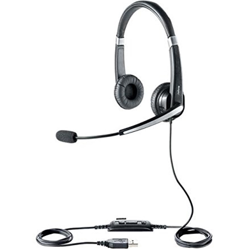 GN NETCOM UC VOICE 550 Duo Corded Headset for Softphone - 5599-829-209