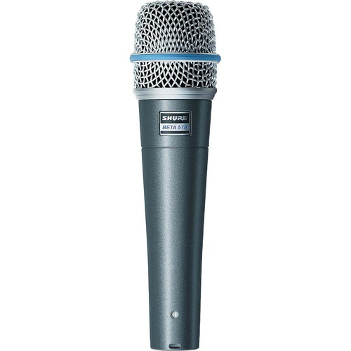 Shure BETA 57A Supercardioid Dynamic Microphone with High Output Neodymium Element