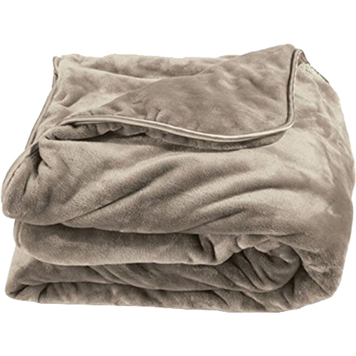Brookstone Nap Weighted Blanket in Taupe - Open Box