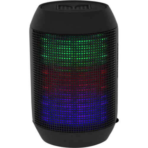 BlackHat Tech Compact Bluetooth Speaker with Surround Colorful LED Lighting - Open Box