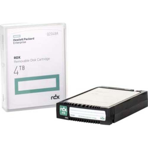 HP Storage Media 7A RDX 4TB Removable Disk Cartridge - Q2048A