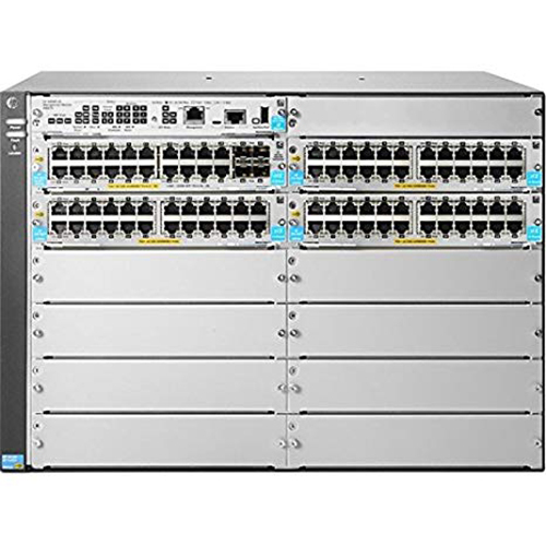 Hewlett Packard Aruba 5412R 92GT PoE+ and 4 port SFP+ v3 zl2 Switch - JL001A