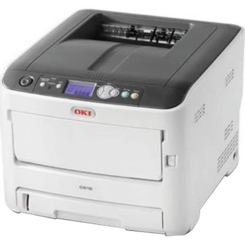 OKIDATA - PRINTERS C612DN Color Laser Duplex Printer - 62447703