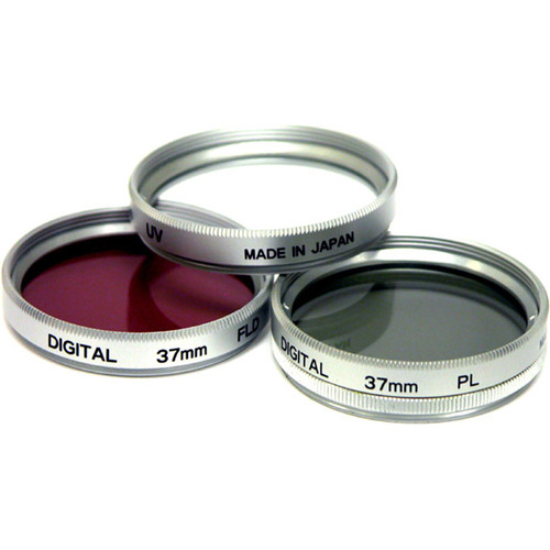 46mm UV, Polarizer & FLD Deluxe Filter kit (set of 3 + carrying case) FK46