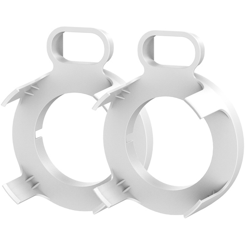 Deco Gear Google WiFi Outlet Wall Mount (White) (2 Pack)