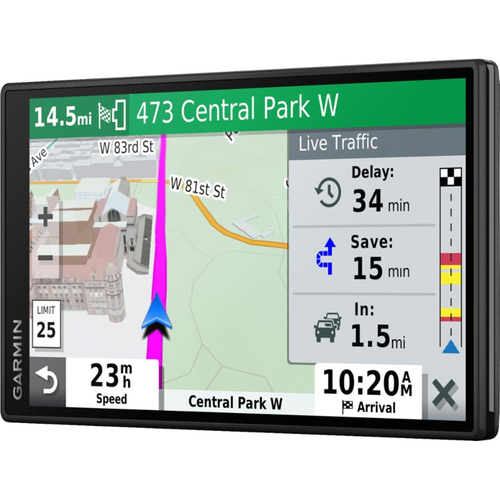Garmin DriveSmart 55 & Traffic with Included Cable: GPS
