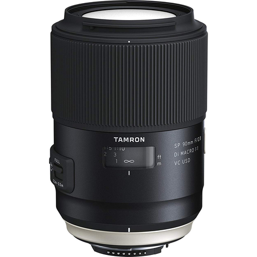 Tamron SP 90mm f/2.8 Di VC USD 1:1 Macro Lens for Nikon (F017)