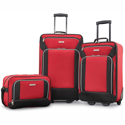 American Tourister Fieldbrook XLT 3 Piece Set - Red - (92286-1733)