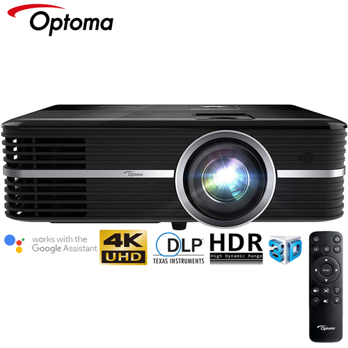Optoma UHD51A Amazon Alexa 4K Ultra HD Home Theater Projector - (Certified Refurbished)