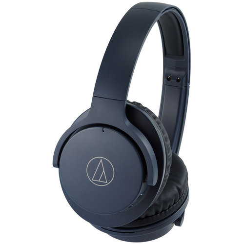 Audio-Technica QuietPoint Wireless Active Noise-Cancelling Headphones ATH-ANC500BT-NV