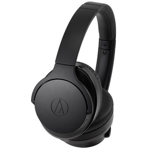 Audio-Technica QuietPoint Wireless Active Noise-Cancelling Headphones ATH-ANC900BT