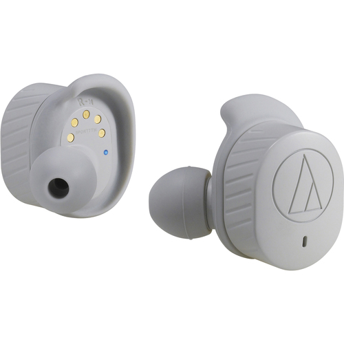 Audio Technica SonicSport Wireless Bluetooth In-Ear Headphones (Gray)